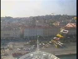 webcam du bateau Costa Luminosa vue avant