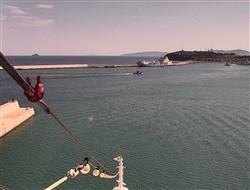 webcam du bateau Costa Victoria vue avant